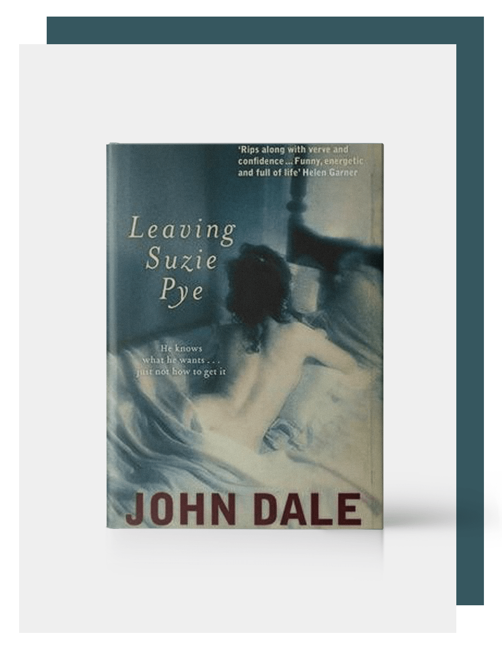 John Dale, Author, Leaving Suzi Pye